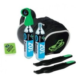 Genuine Innovations Genuine Innovations, Tire Repair & Inflation Seat Bag avec 2 cartouches 20g