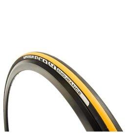 Michelin Pneu Pro4 Endurance, 700x23C, Pliable, Dual, Nylon B2B, 110TPI, 87-116PSI, 225g, Jaune