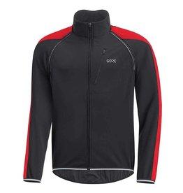 Gore Bike Wear C3 GWS Phantom, Manteau a manches amovibles, Noir/Rouge
