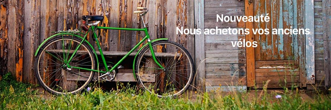 Rachat de vélos d'occasion