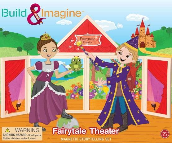 Build and Imagine Fairytale Theater