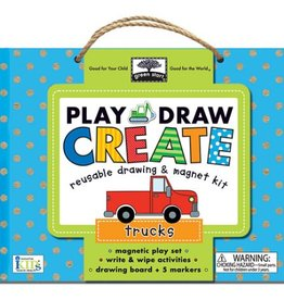 Play Draw Create Kit- Trucks