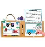 Play Draw Create Kit- Trucks