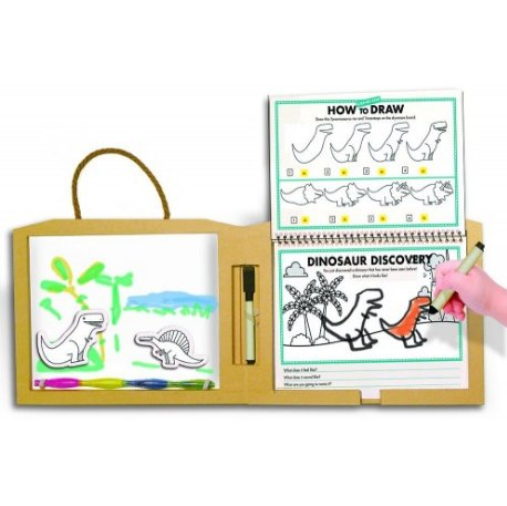Play Draw Create Kit- Dino