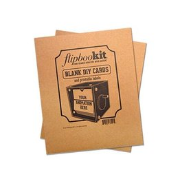 FlipBooKit Blank Card Kit