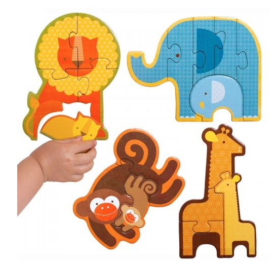 Beginner Puzzle- Safari Babies