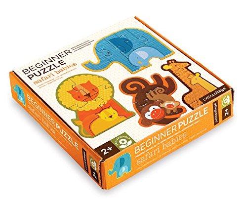 Beginner Puzzle- Safari Babies