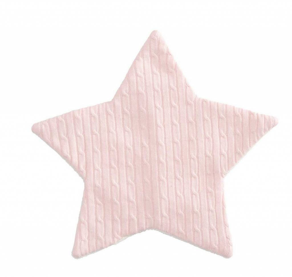 Cable Knit Crinkle Star