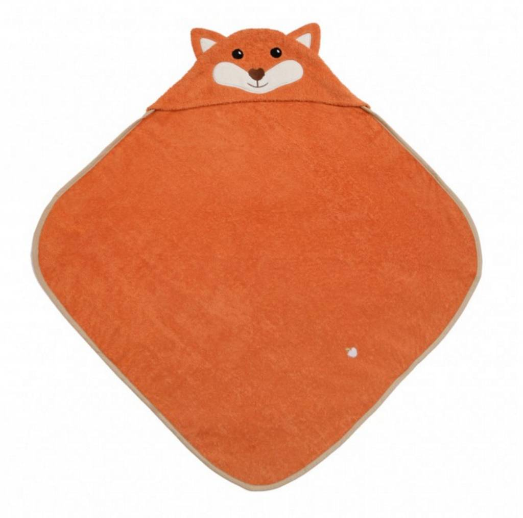 Organic Fox Hooded Towel