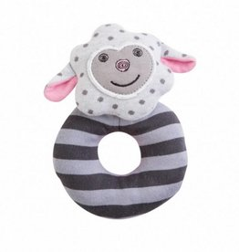 Organic Teething Rattle- Dreamy Sheep