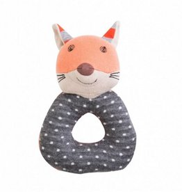 Organic Teething Rattle- Frenchy Fox