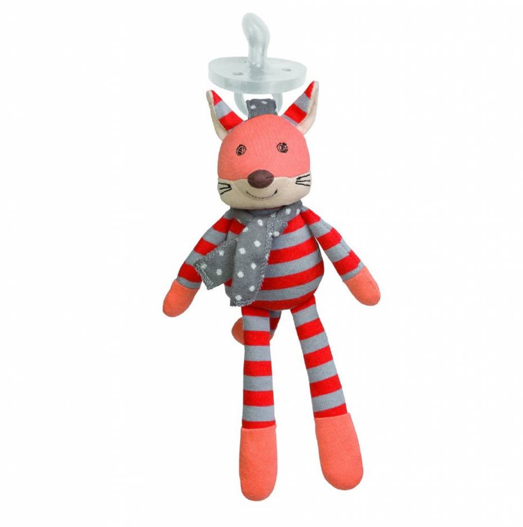 Organic Pacifier Buddy- Frenchy Fox