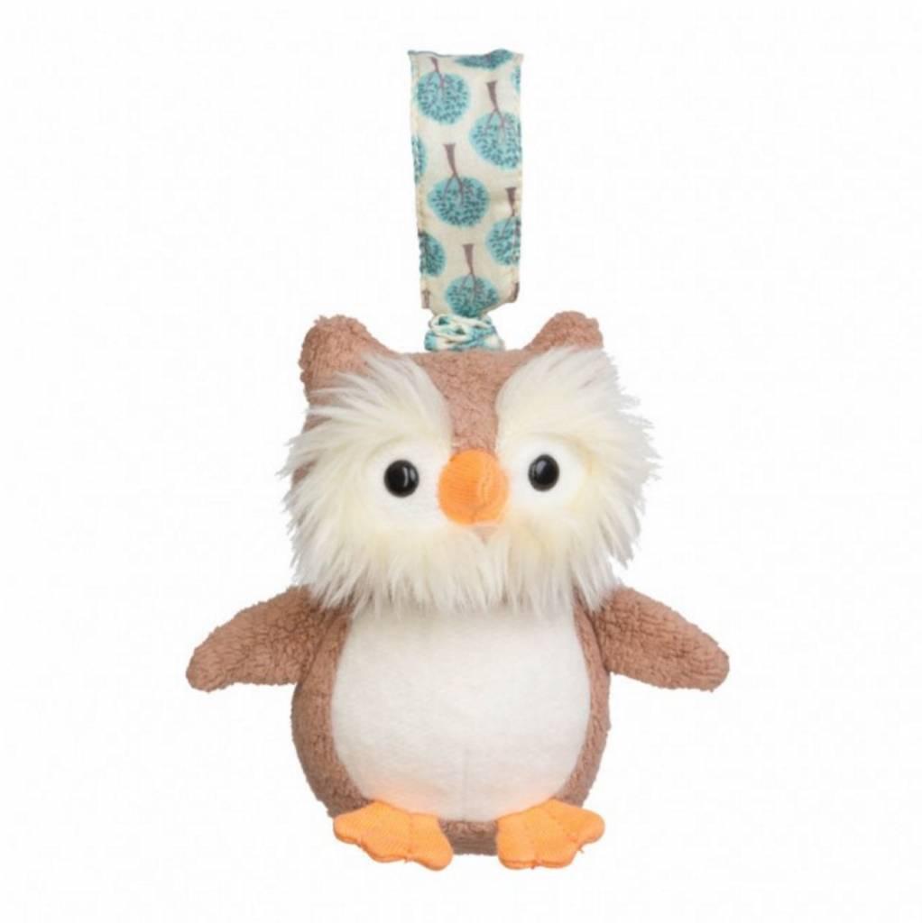 Organic Stroller Toy- Owl