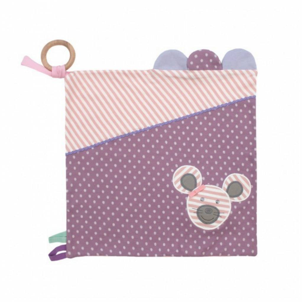 Organic Activity Blanket- Ballerina Mouse