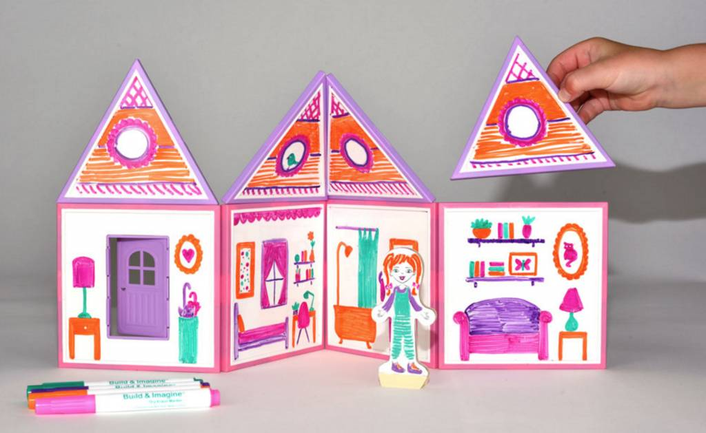 Draw and Build Dollhouse