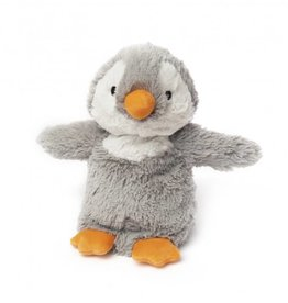 Cozy Plush Gray Penguin
