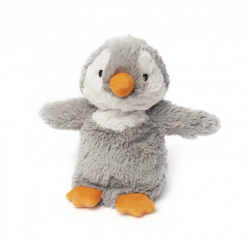 Cozy Plush Gray Penguin
