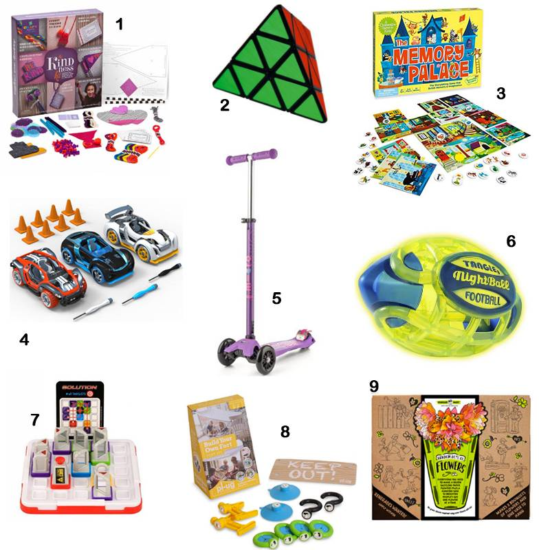 Top Nine Gifts for Elementary Schoolers