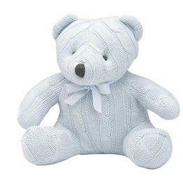 Cable Knit Teddy Bear