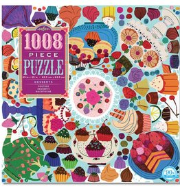 1008 Piece Puzzle- Desserts