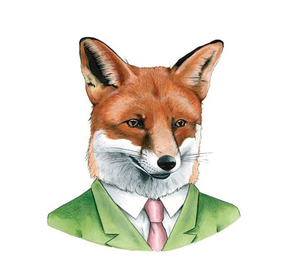 Tattly Red Fox