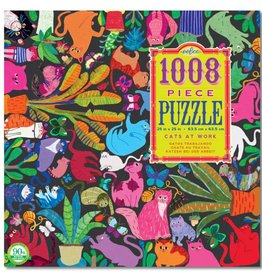 1008 Piece Puzzle- Cats at Work