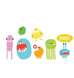 Tattly Monster Set