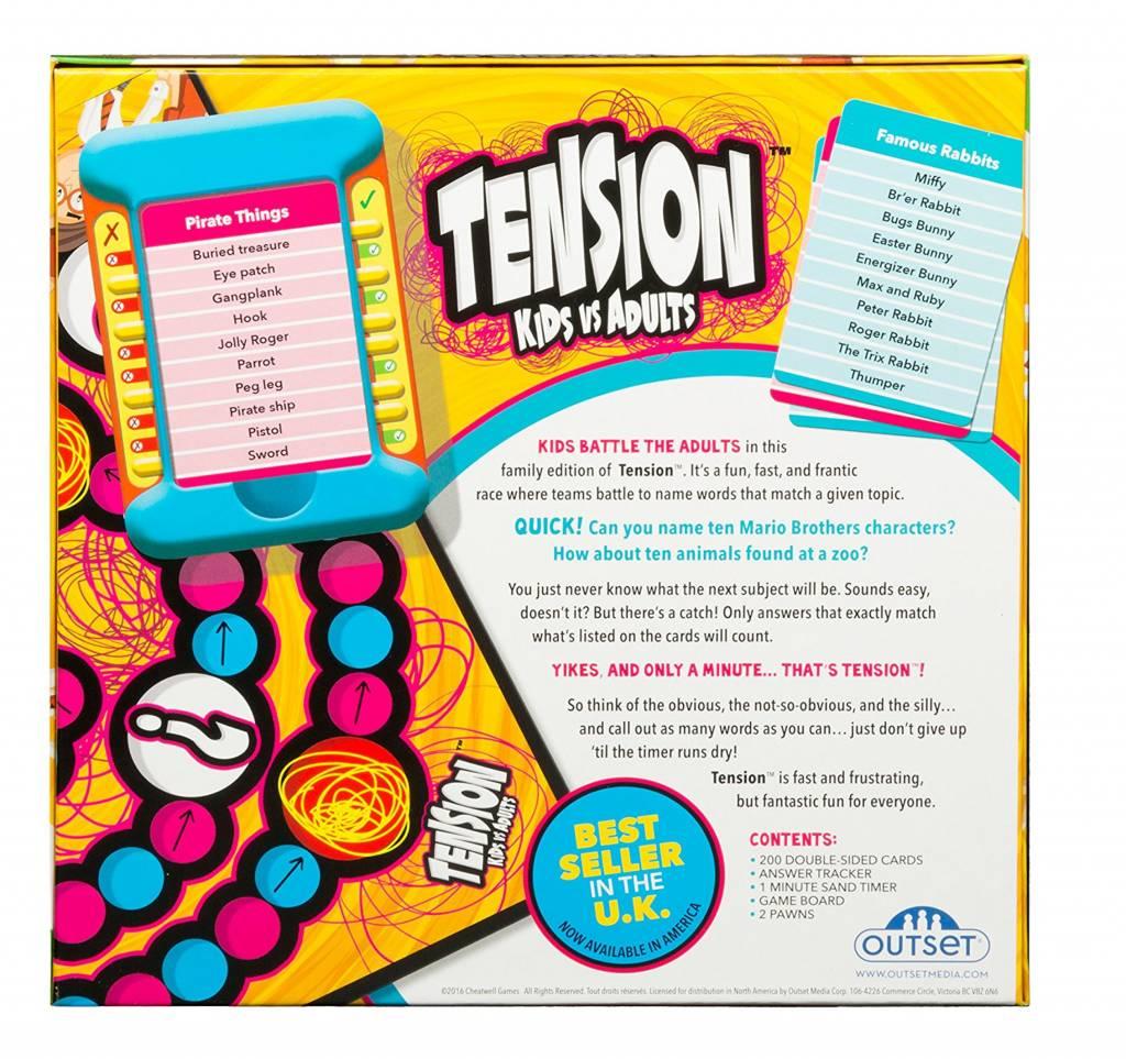 Tension Kids vs. Adults