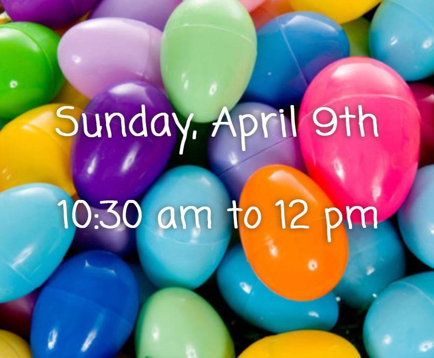 Easter Egg Hut Ticket
