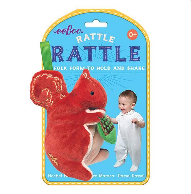 Squirrel  Rattle