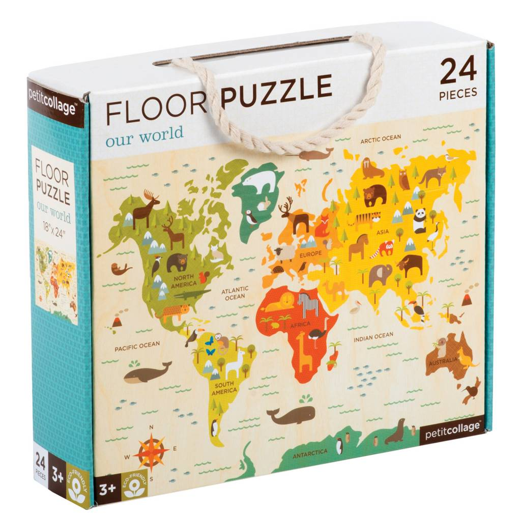 World map 24 piece puzzle momos tree house world map 24 piece puzzle gumiabroncs Choice Image