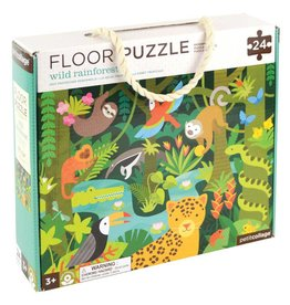 Wild Rainforest 24-Piece Floor Puzzle