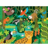 Wild Rainforest 24-Piece Floor Puzzle