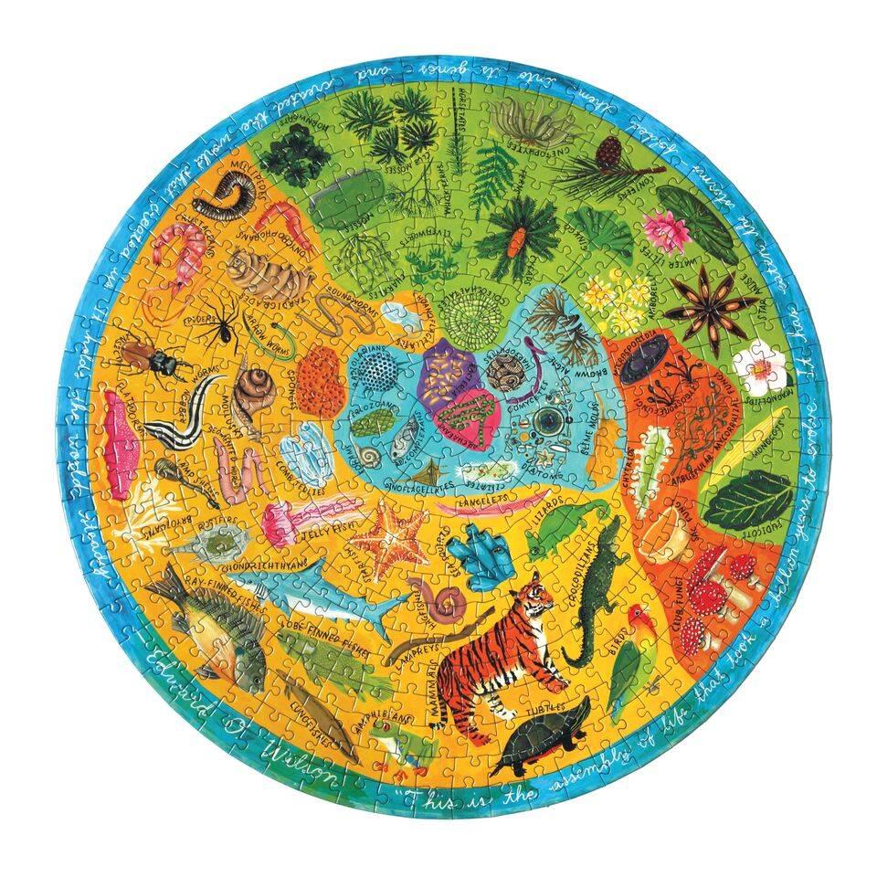 500 pc Biodiversity Puzzle