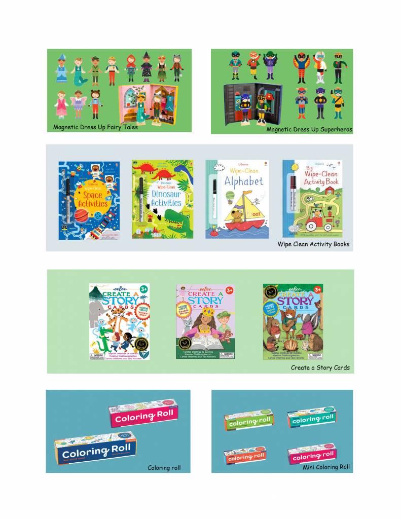Screen-free Preschool Travel Toys