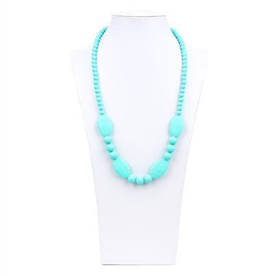 NIXI NIXI KNOTTED SILICONE NECKLACE
