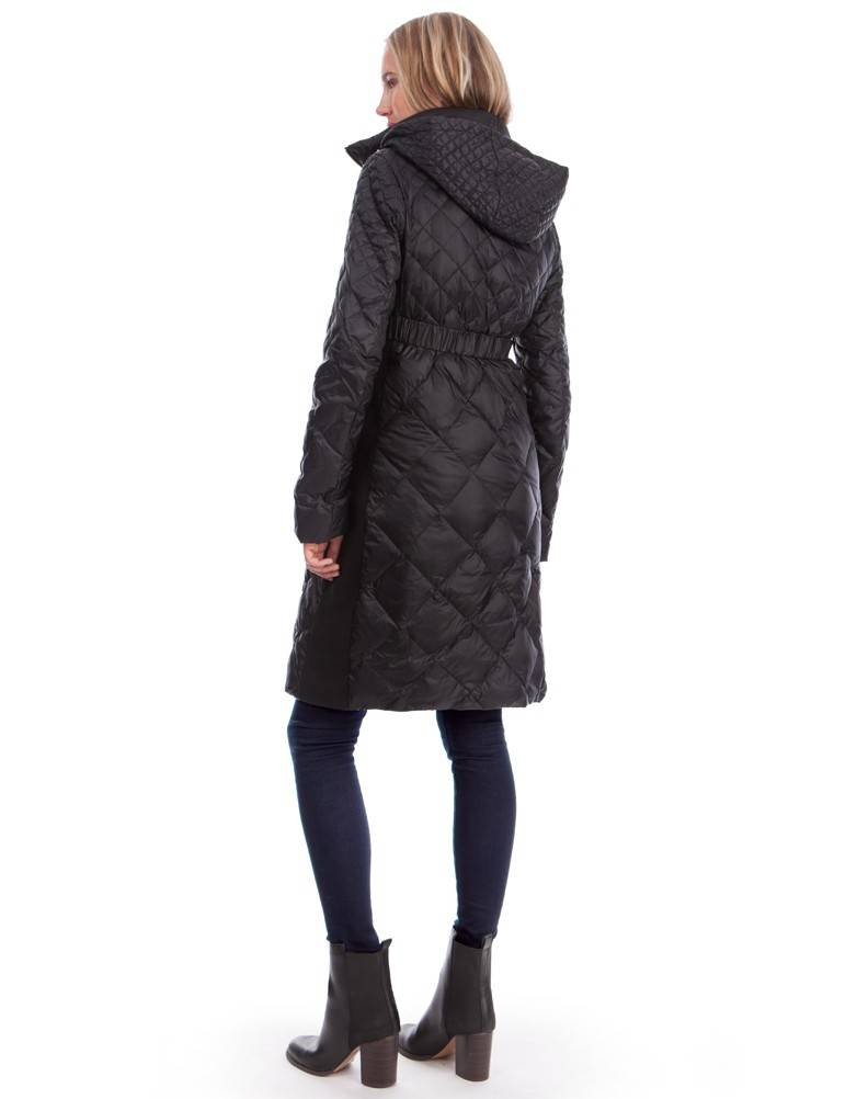 "SERAPHINE ""NINA"" LONG QUILTED COAT W090011"