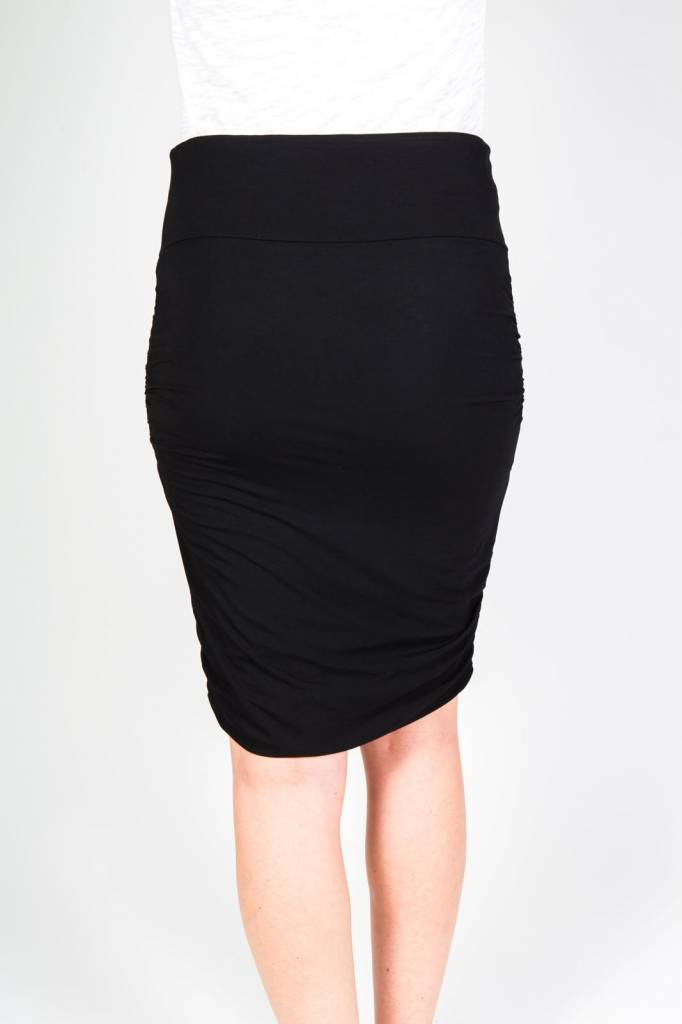 "ORB CLOTHING ""DAHLIA"" RUCHED SKIRT 71-1309"