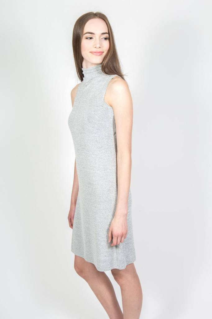 "ORB CLOTHING ""ISLA"" FUNNEL NECK KNIT DRESS 71-1005"
