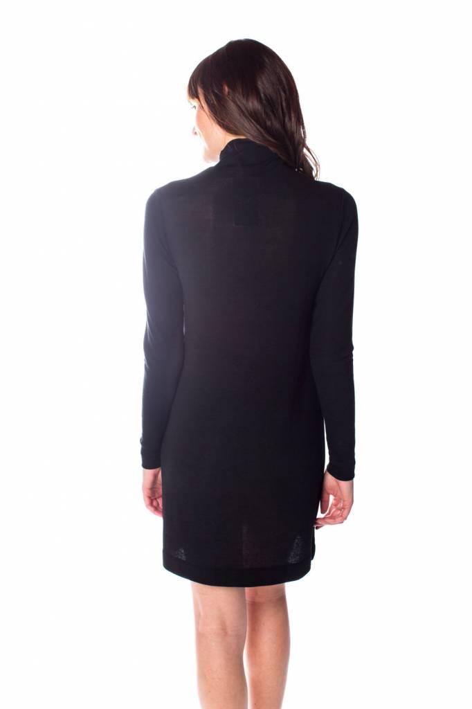 "ORB CLOTHING ""ISLA"" FUNNEL NECK KNIT DRESS 73-1003"