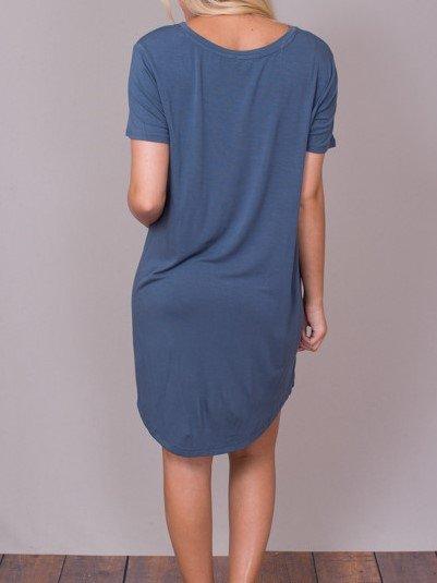 Z SUPPLY POCKET TEE DRESS ZD172056