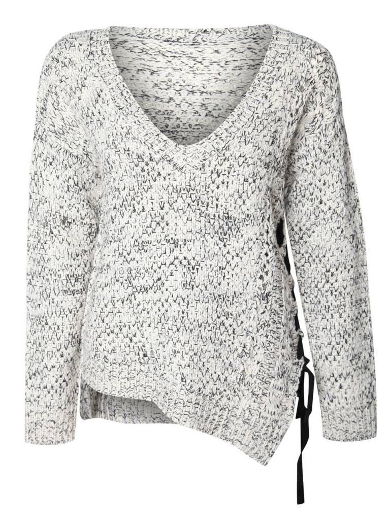 DEX CLOTHING ASYMMETRICAL SWEATER 1027264