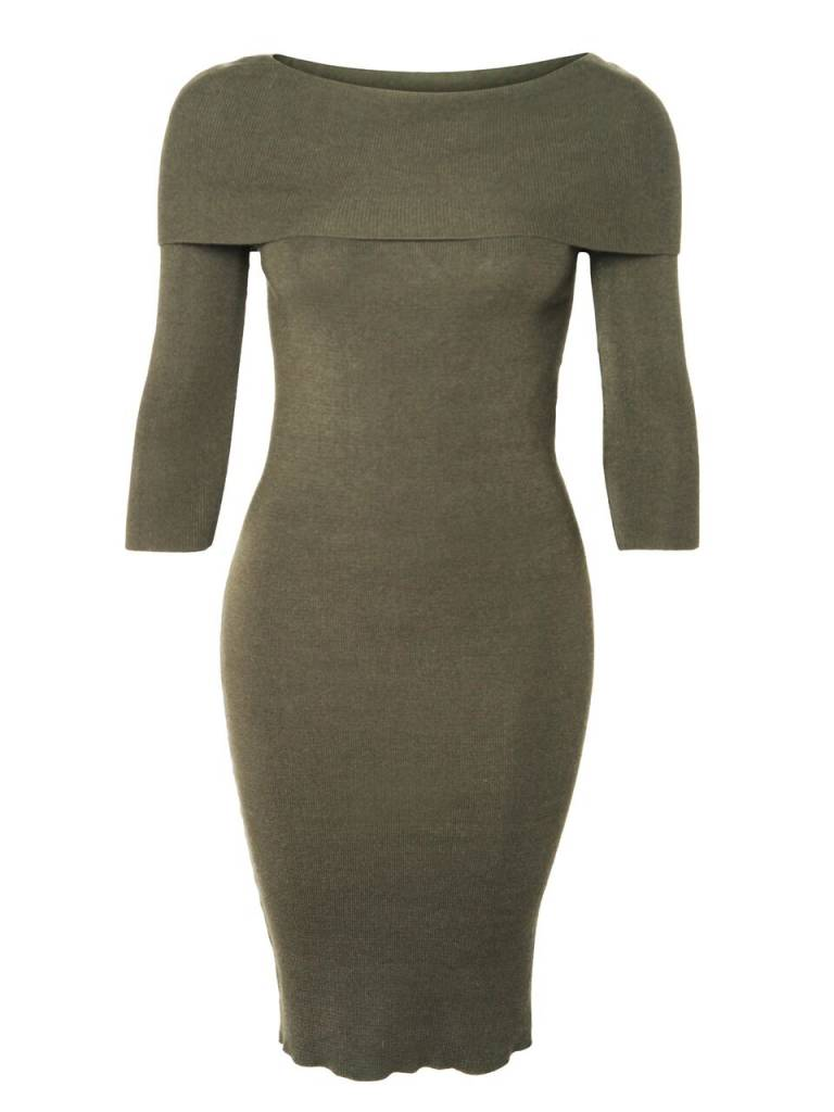 DEX CLOTHING MIDI SWEATER DRESS 1022092
