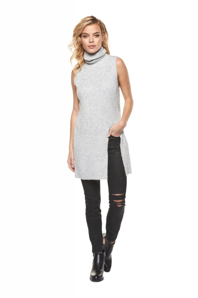 "DEX CLOTHING ""FRONT SLIT"" SWEATER TOP 1027105"