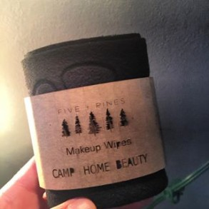 FIVE + PINES MAKE-UP WIPES 2 PACK