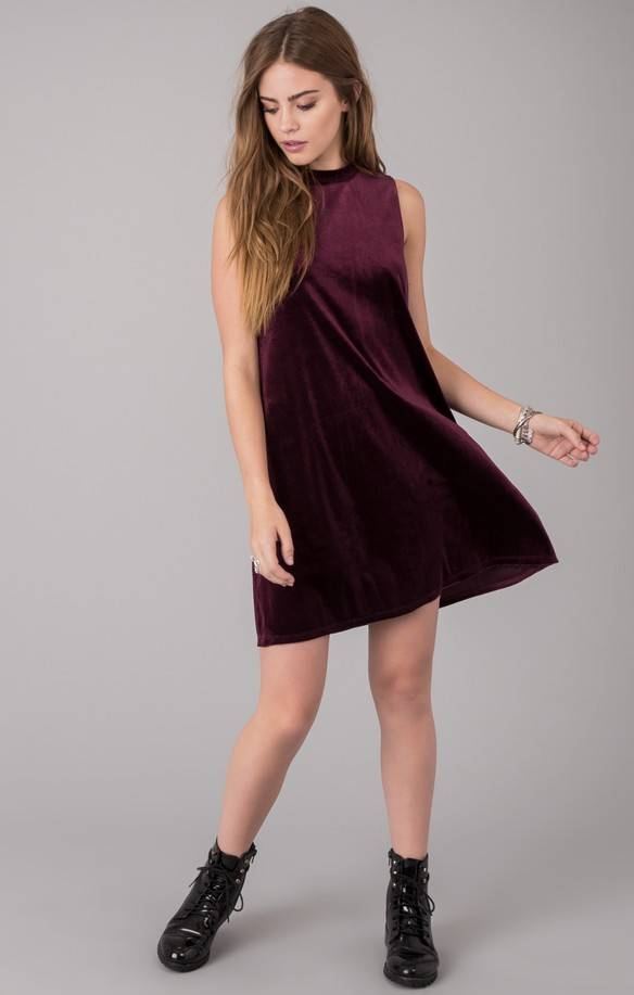 "OTHERS FOLLOW ""GIGI"" VELVET DRESS OD174549"