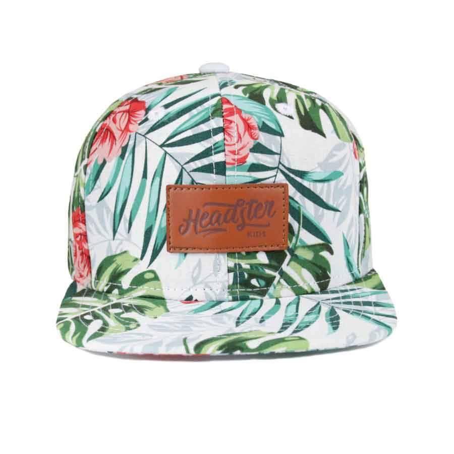 HEADSTER ALOHA-WHITE HAT