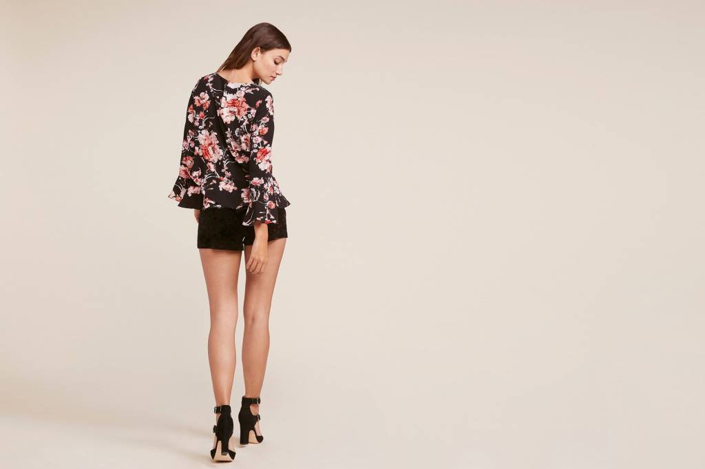 BB DAKOTA BELL L/S FLORAL TOP BI304041