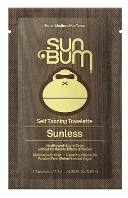 SUN BUM SELF TANNING TOWELETTE 50005