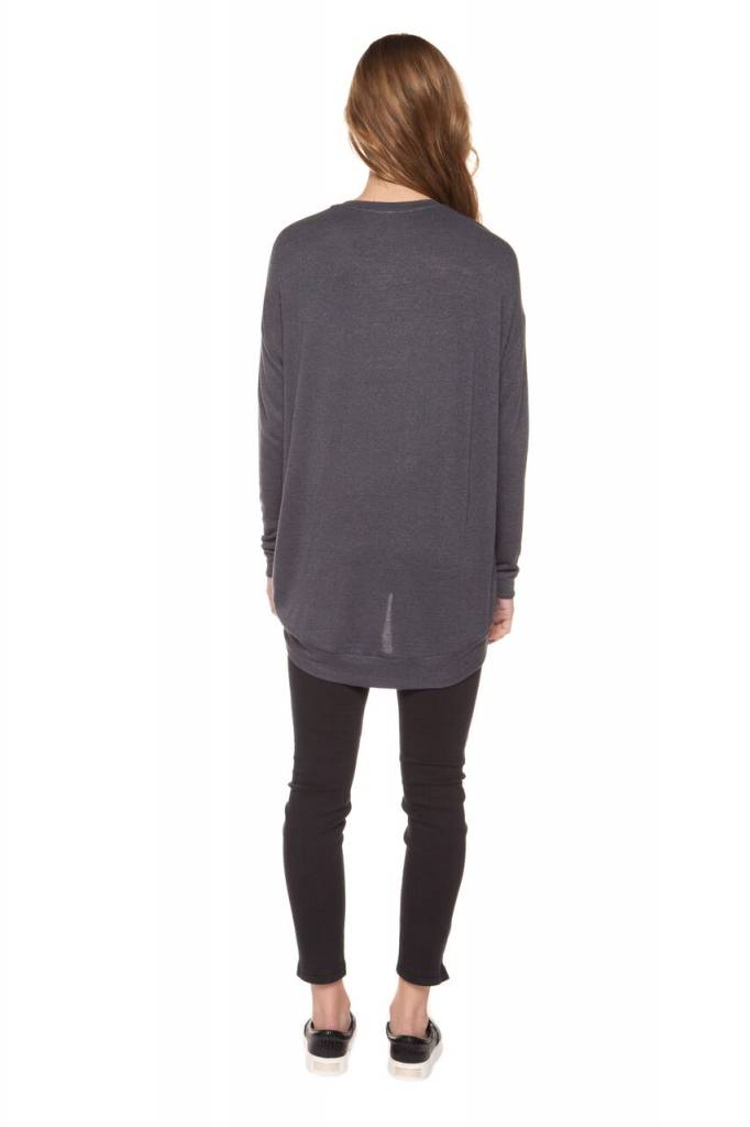 DEX CLOTHING L/S V-NECK KNIT SWEATER 1224131